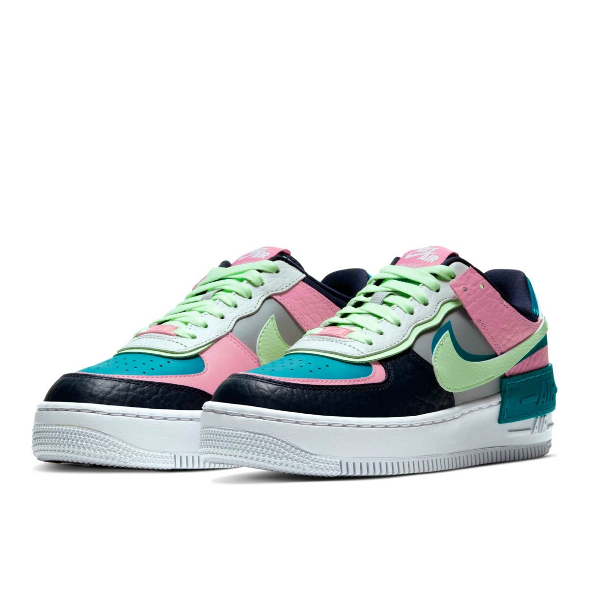 nike air force 1 shadow se pink aqua mint CK3172_001 купить