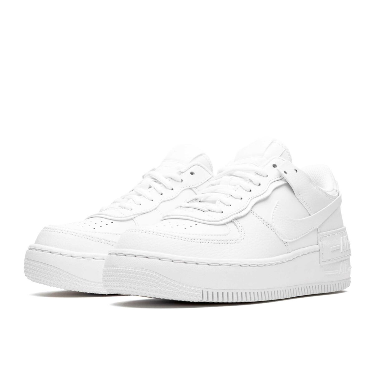 nike air force 1 shadow triple white CI0919_100 купить