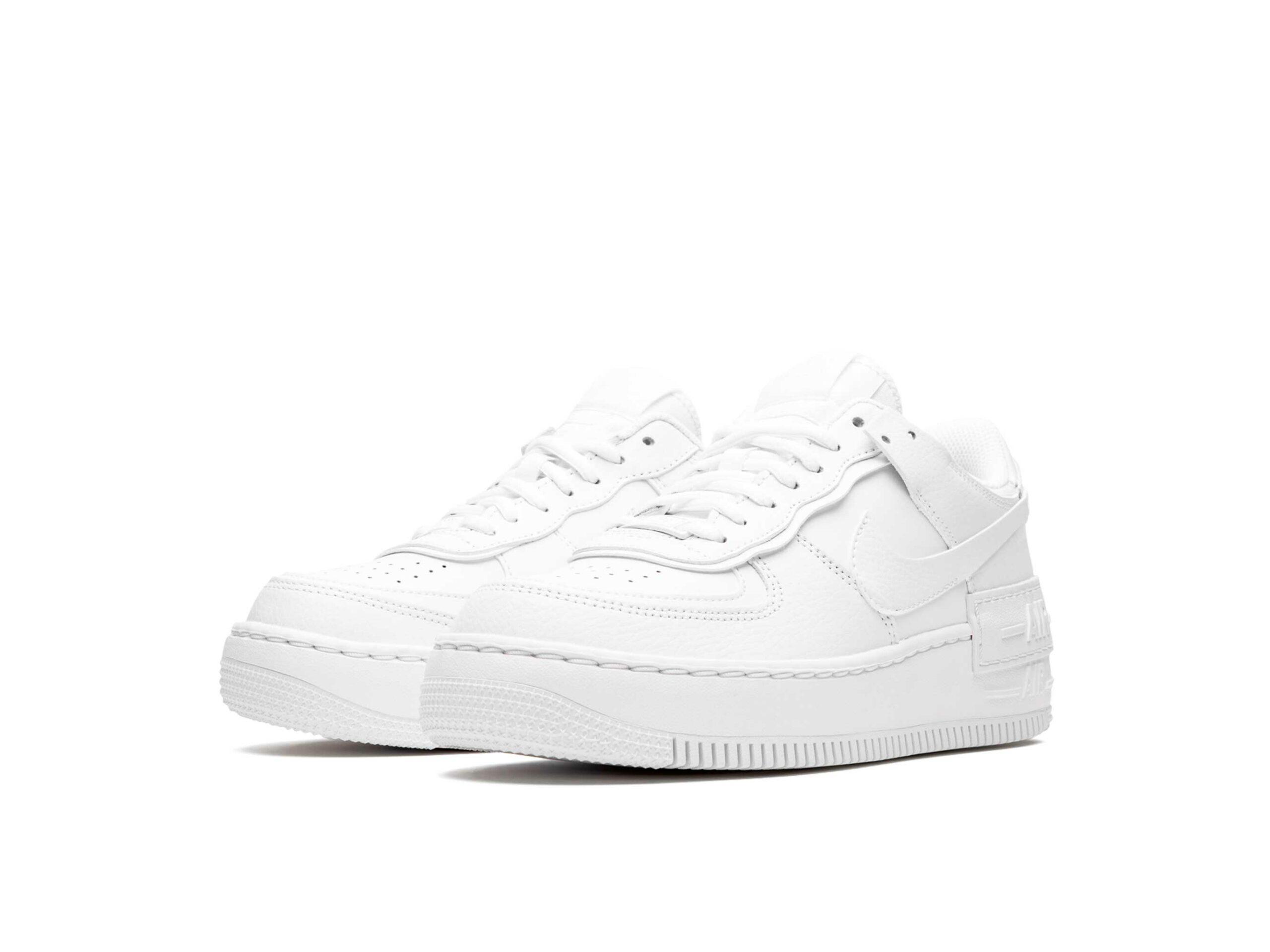nike air force 1 shadow triple white CI0919_100 купить
