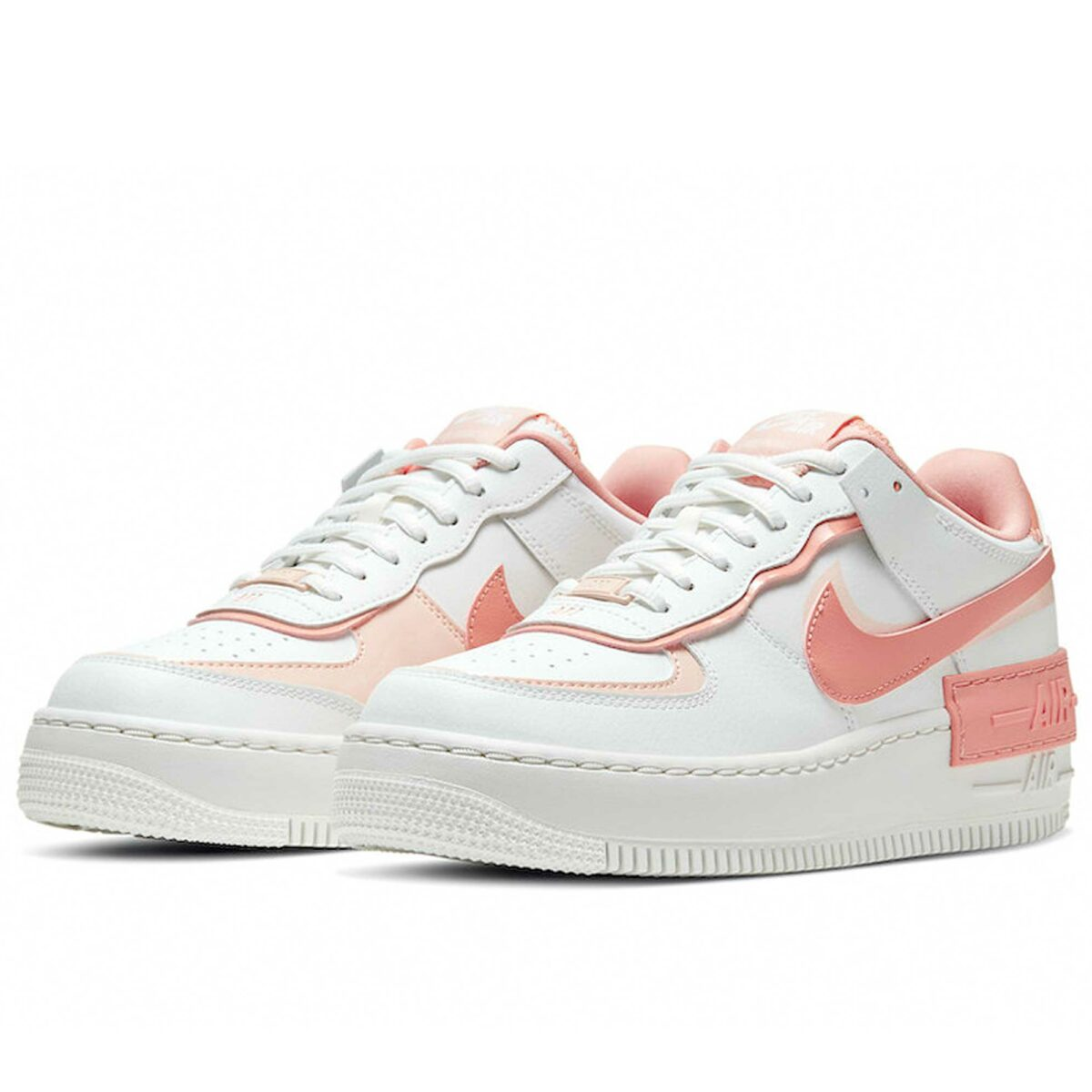 nike air force 1 shadow white pink CJ1641_101 купить