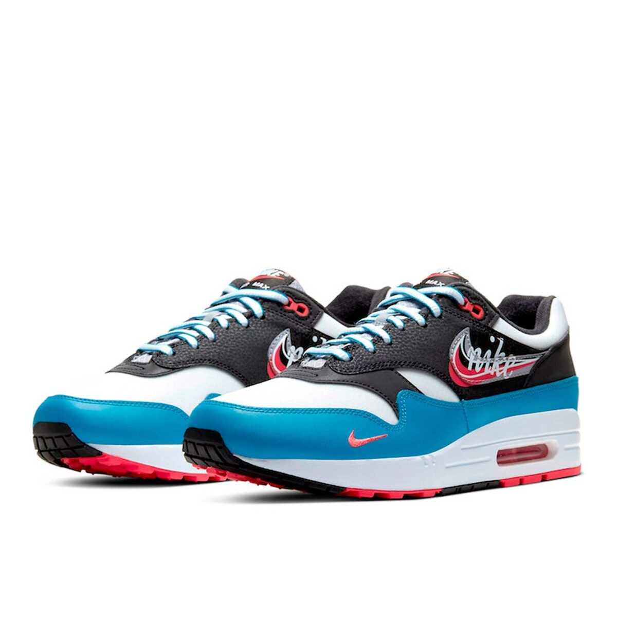 nike air max 1 script swoosh CT1623_001 купить