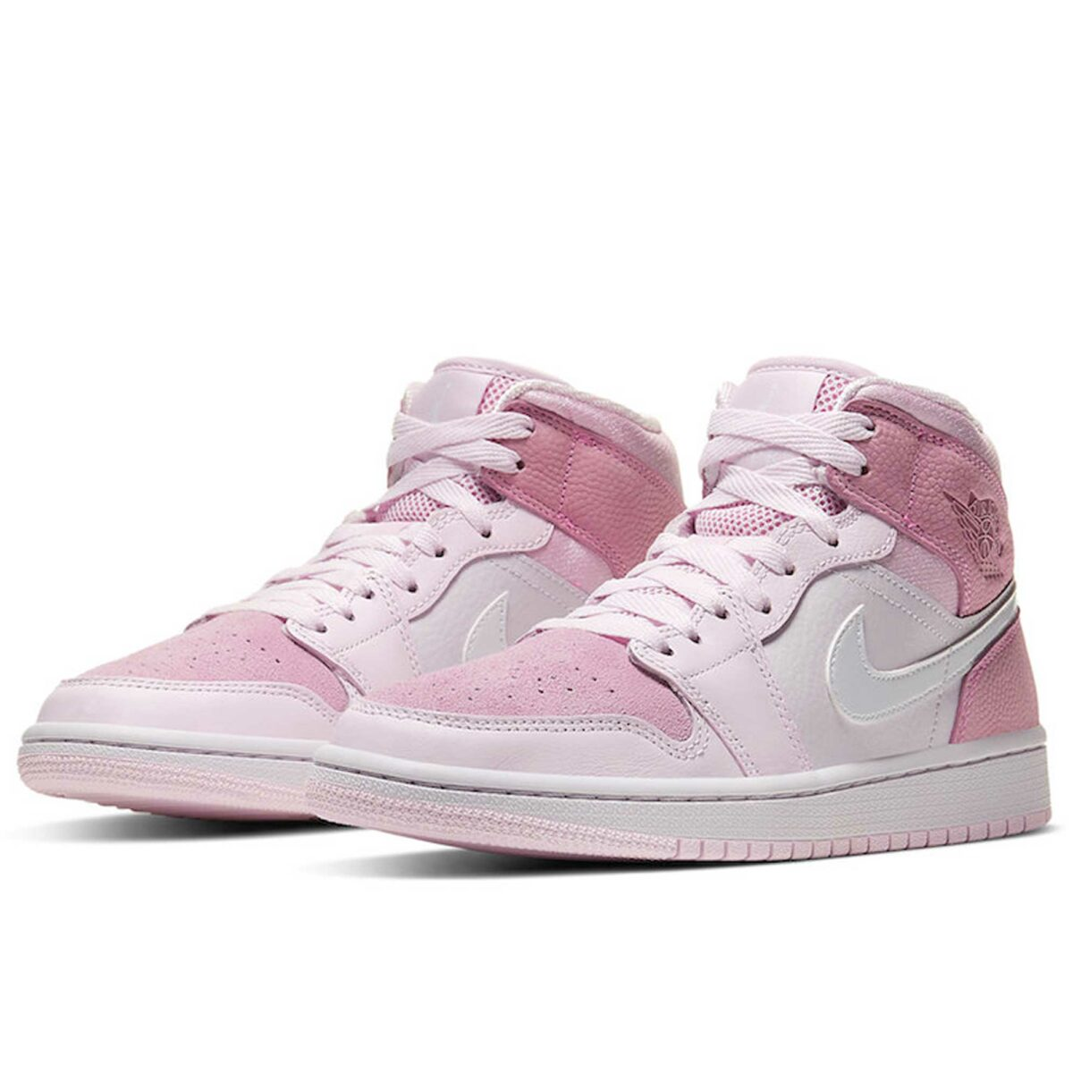 nike air Jordan 1 mid digital pink CW5379_600 купить