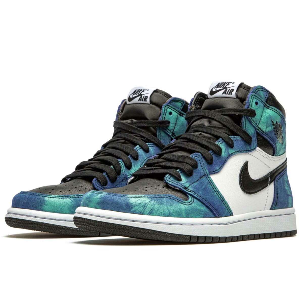 nike air Jordan 1 retro high og WMN tie-dye CD0461_100 купить
