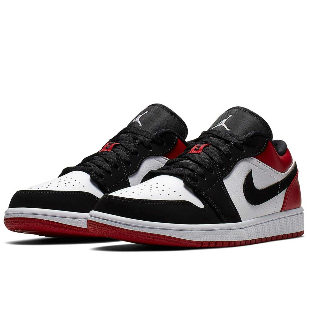 nike air Jordan 1 retro low black toe 553558_116 купить