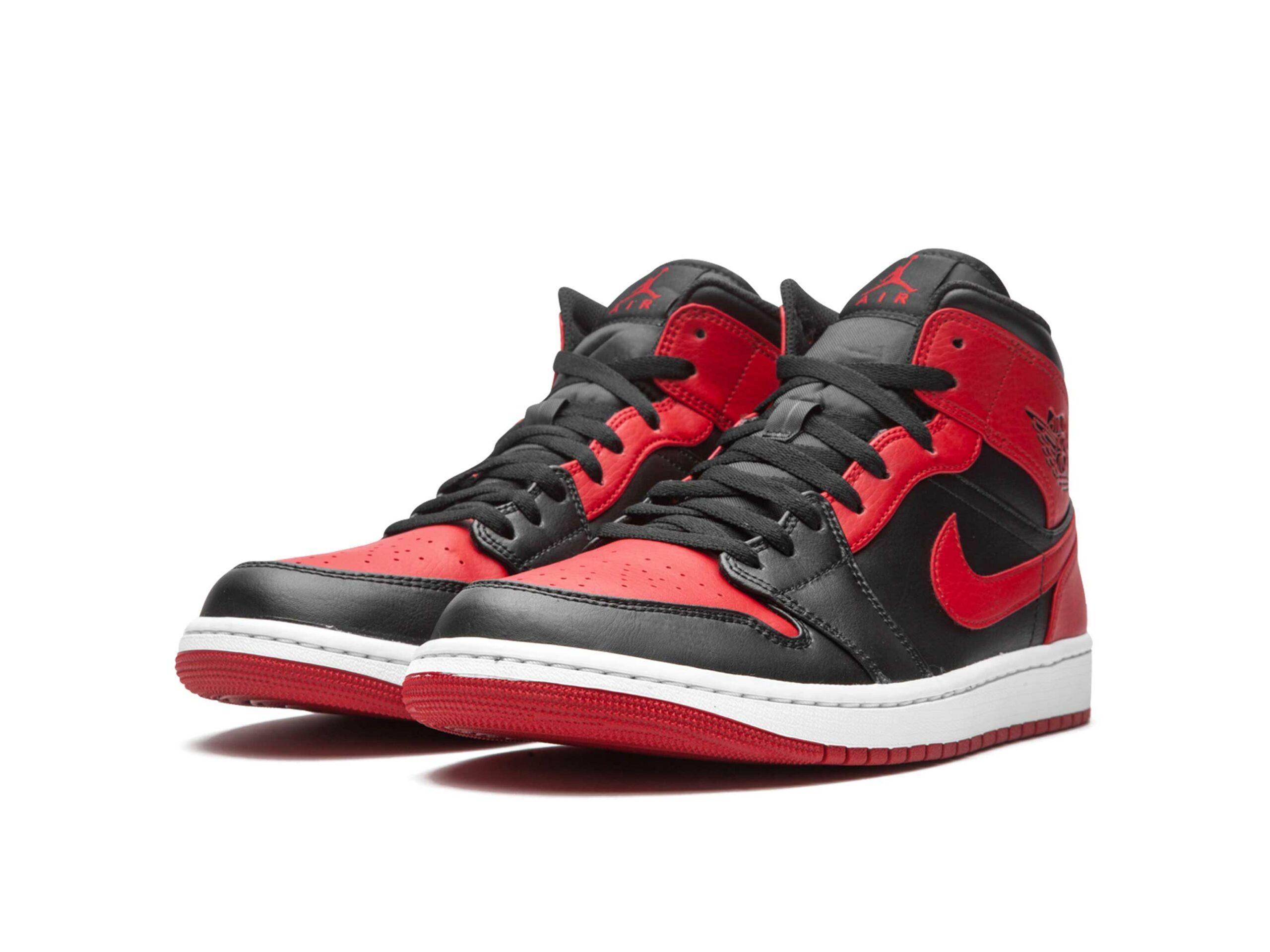 nike air Jordan 1 retro mid banned 2020 554724_074 купить