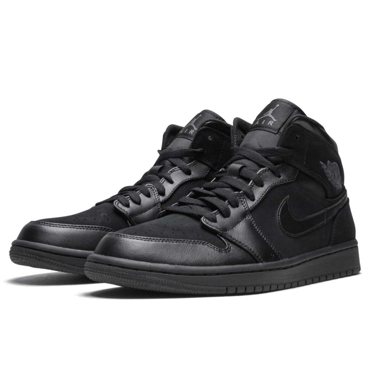 nike air Jordan 1 mid black 554724_050 купить
