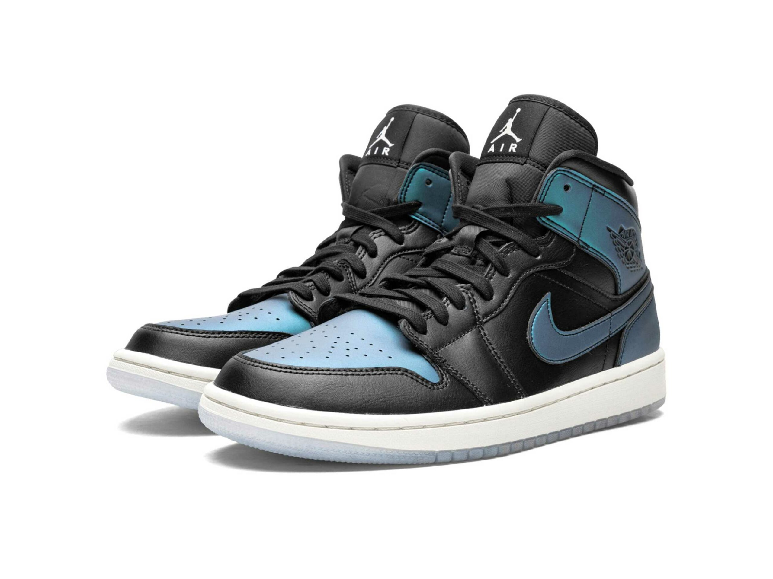 nike air Jordan 1 mid iridescent BQ6472_009 купить