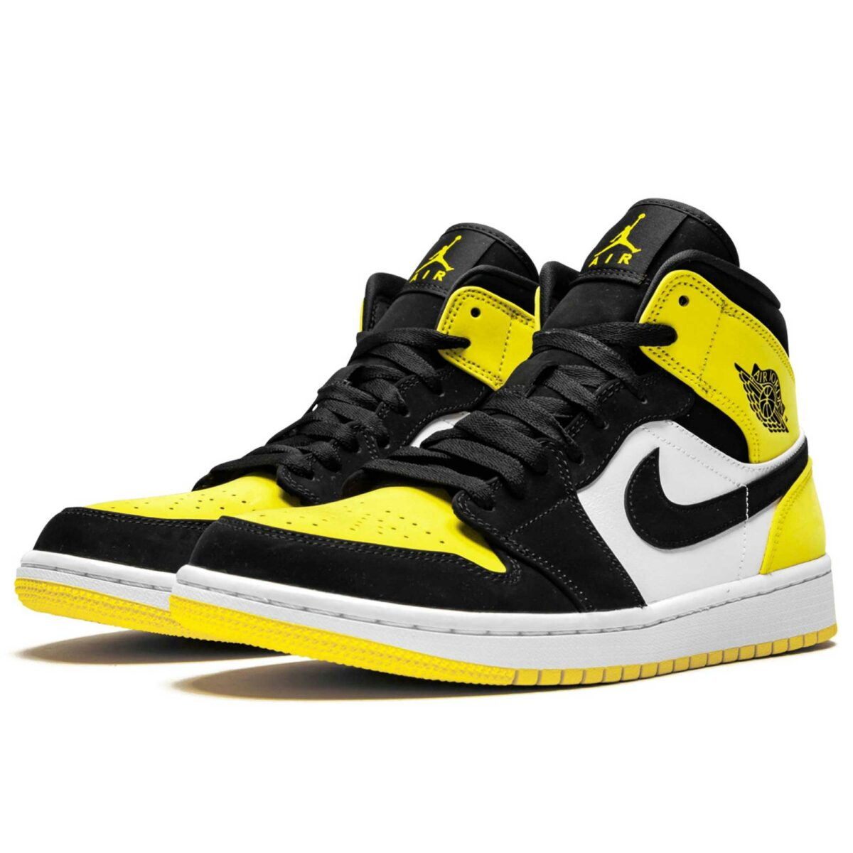 nike air Jordan 1 mid se yellow toe 852542_071 купить