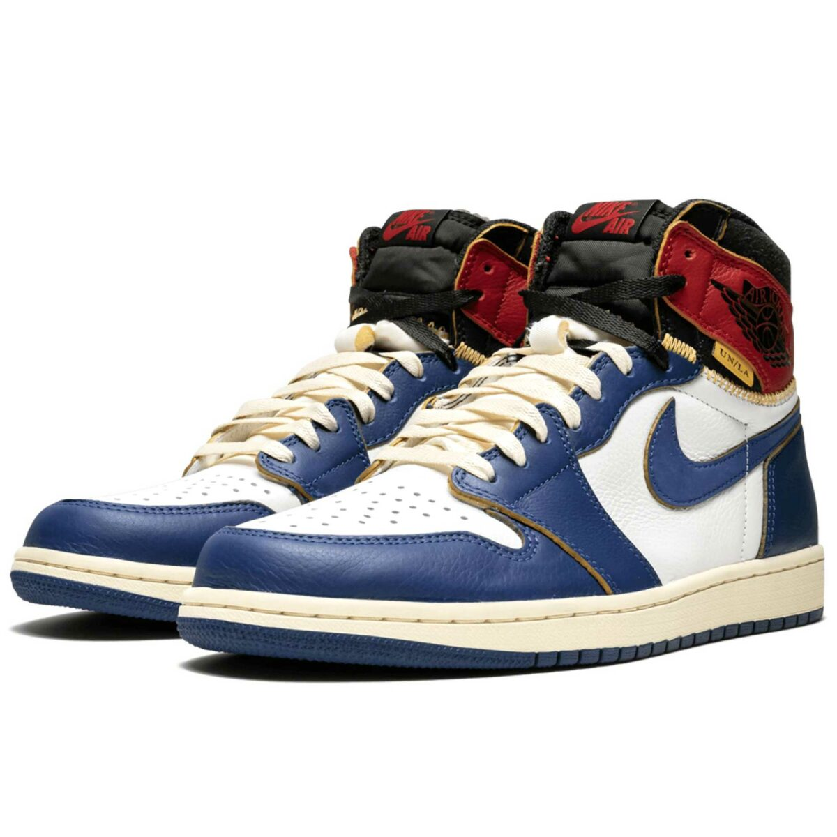 nike air Jordan 1 retro hi union storm blue BV1300_146 купить