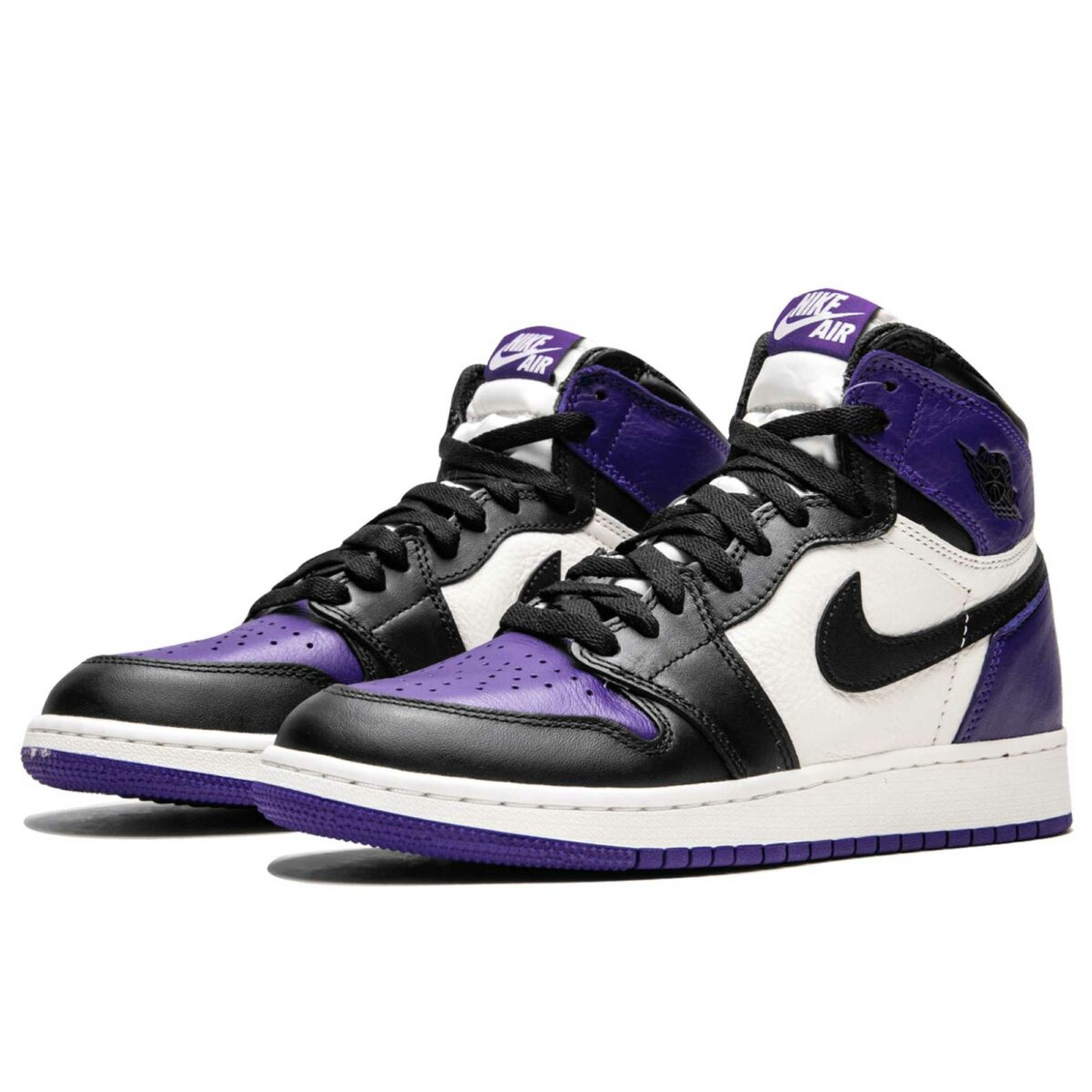 nike air Jordan 1 retro mid court purple 575441_501 купить