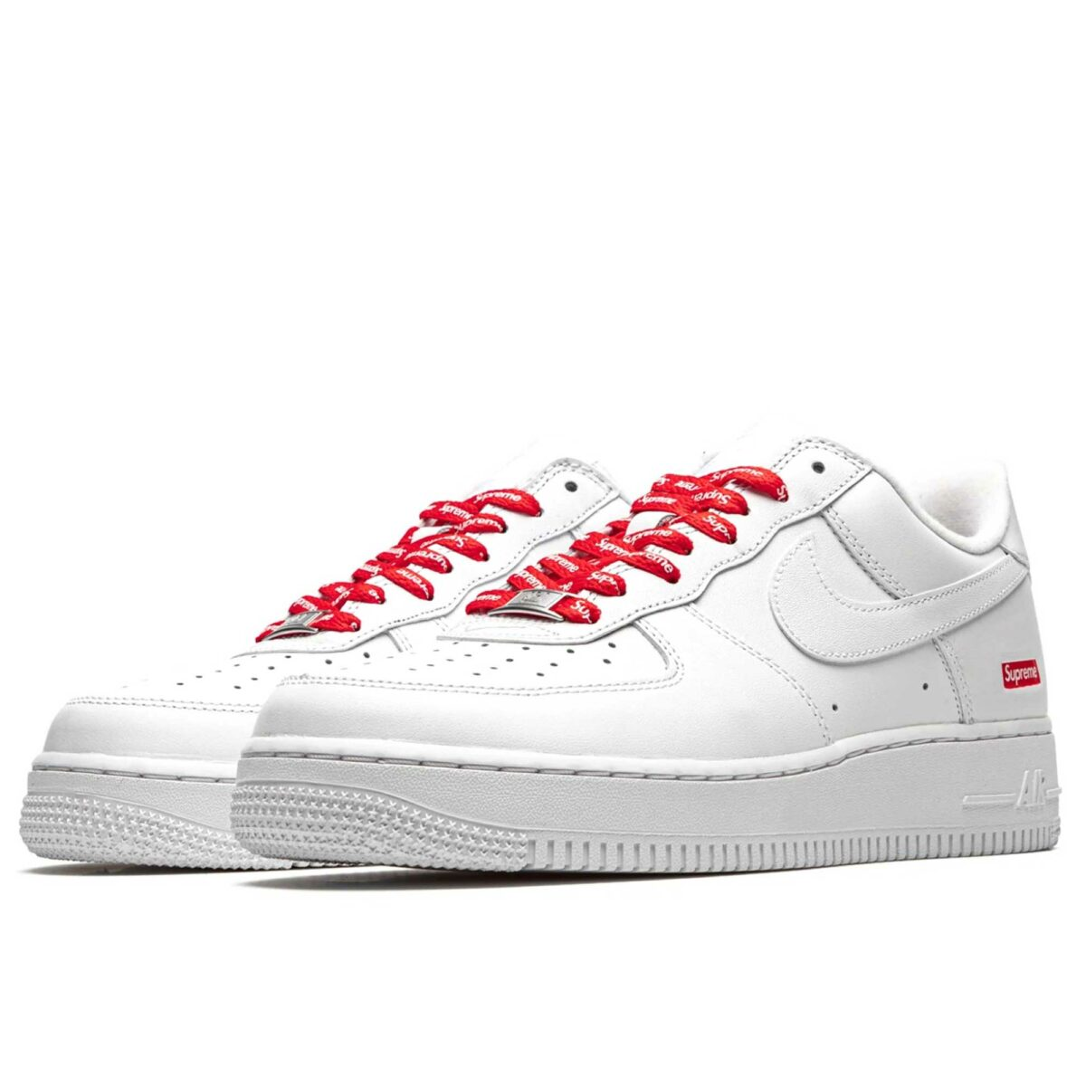 nike air force 1 low supreme mini box logo white CU9225_100 купить