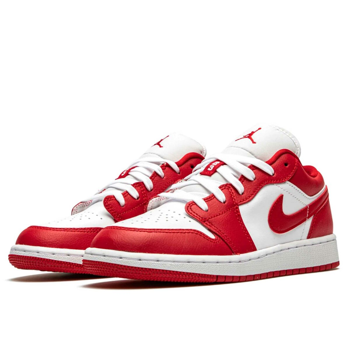 nike air jordan 1 low GS gym red white 553560_611 купить