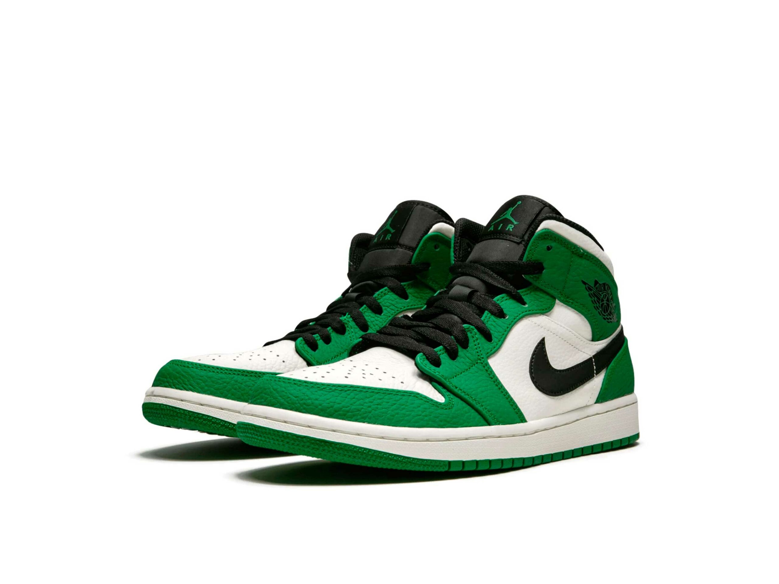 nike air jordan 1 mid pine green 852542_301 купить