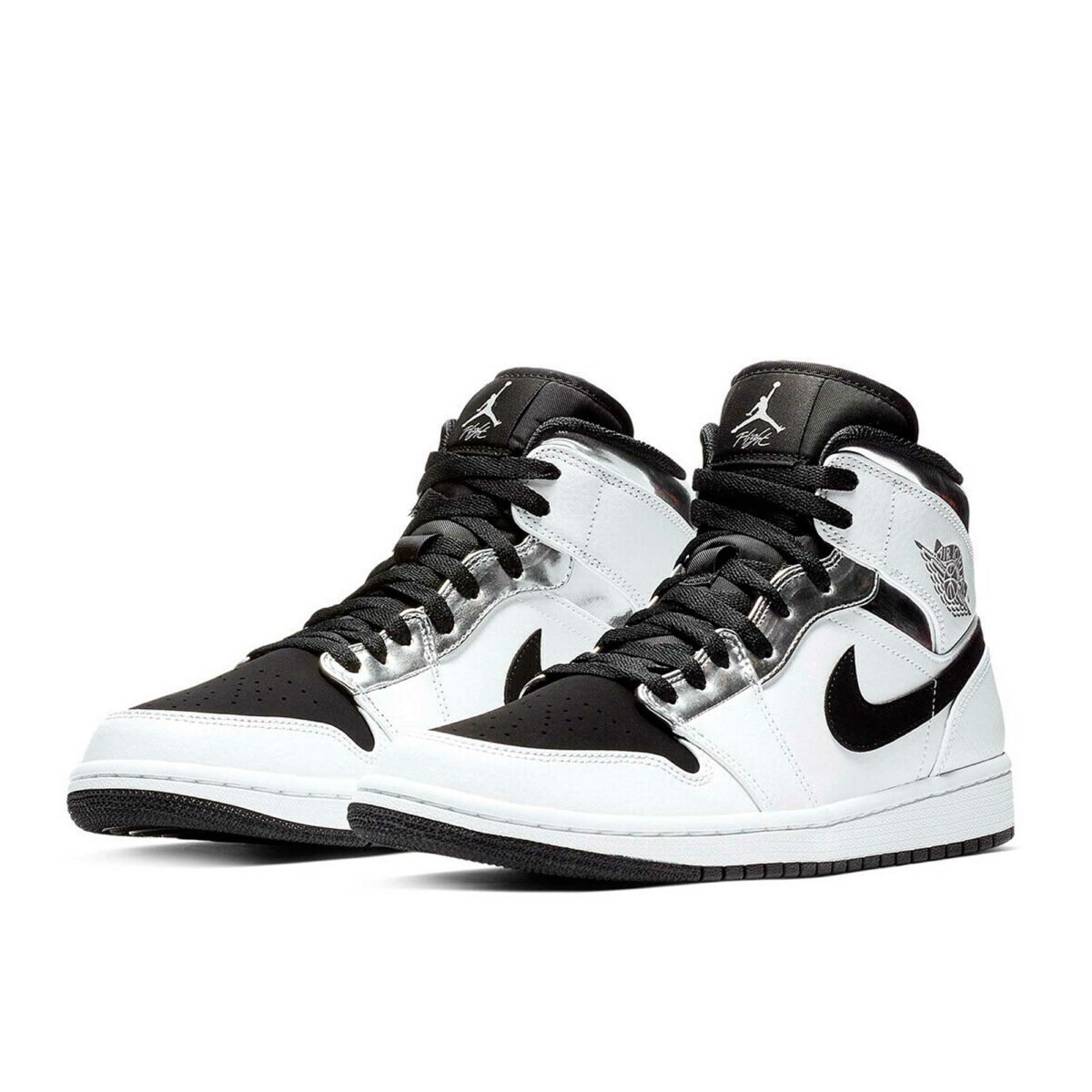 nike air jordan 1 retro hight white silver 554724_121 купить