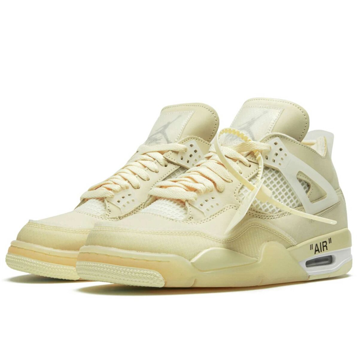 nike x off white air Jordan 4 retro sp CV9388_100 купить