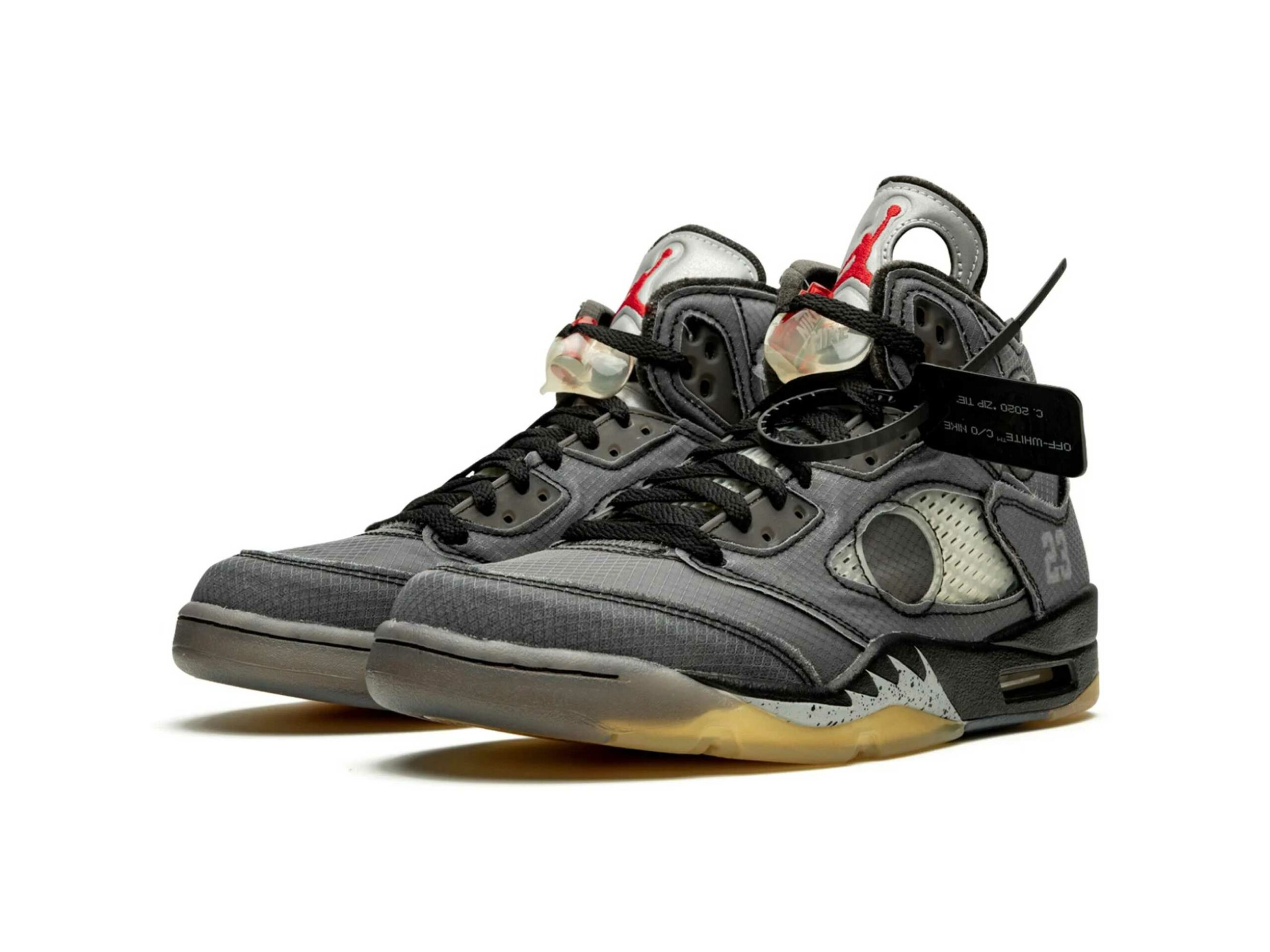nike x off-white air Jordan 5 retro black CT8480_001 купить