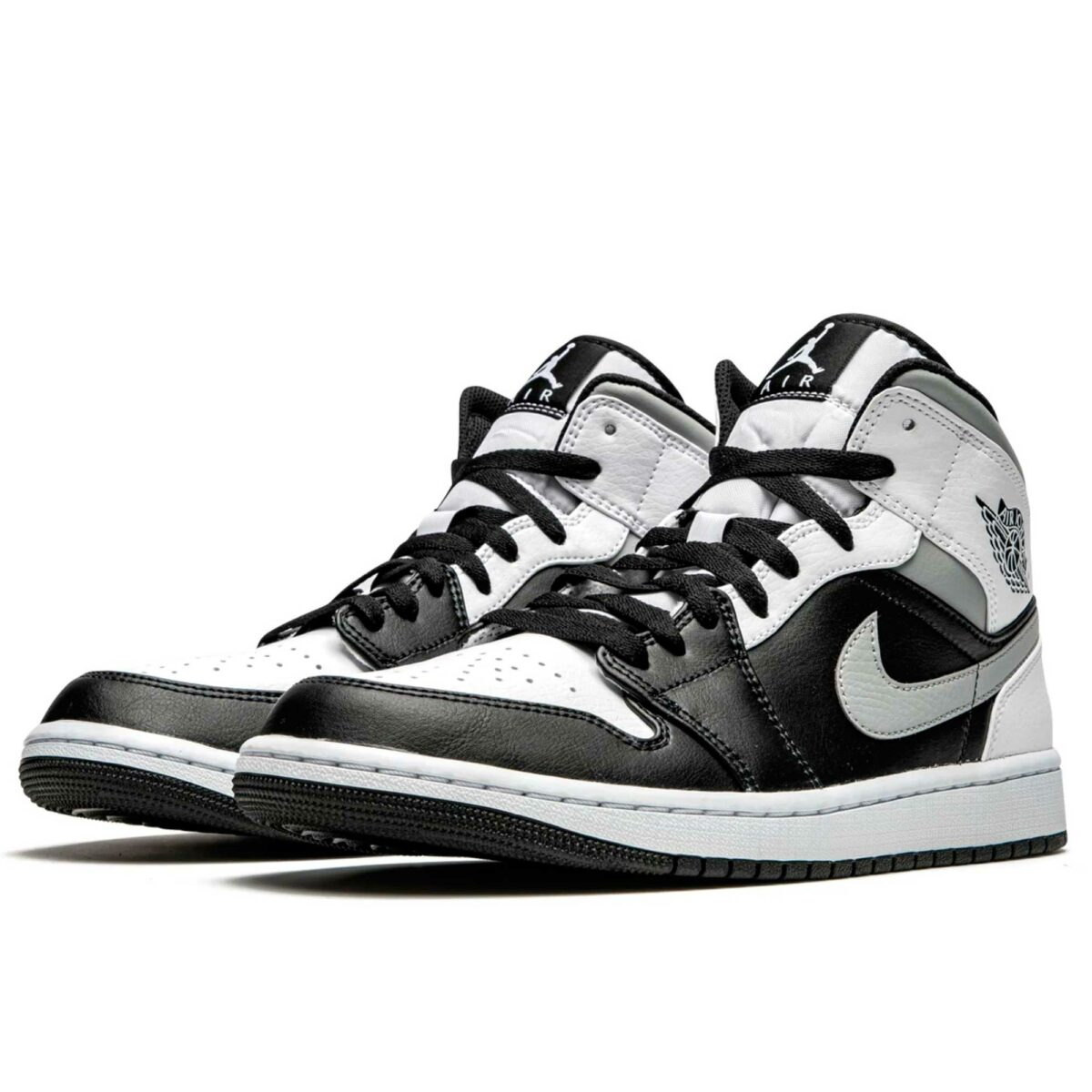 nike air jordan 1 mid white shadow 554724_073 купить