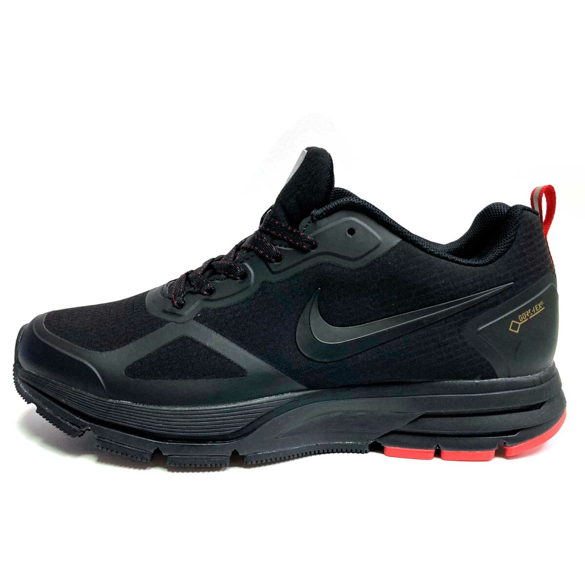 nike pegasus gore-tex black red купить