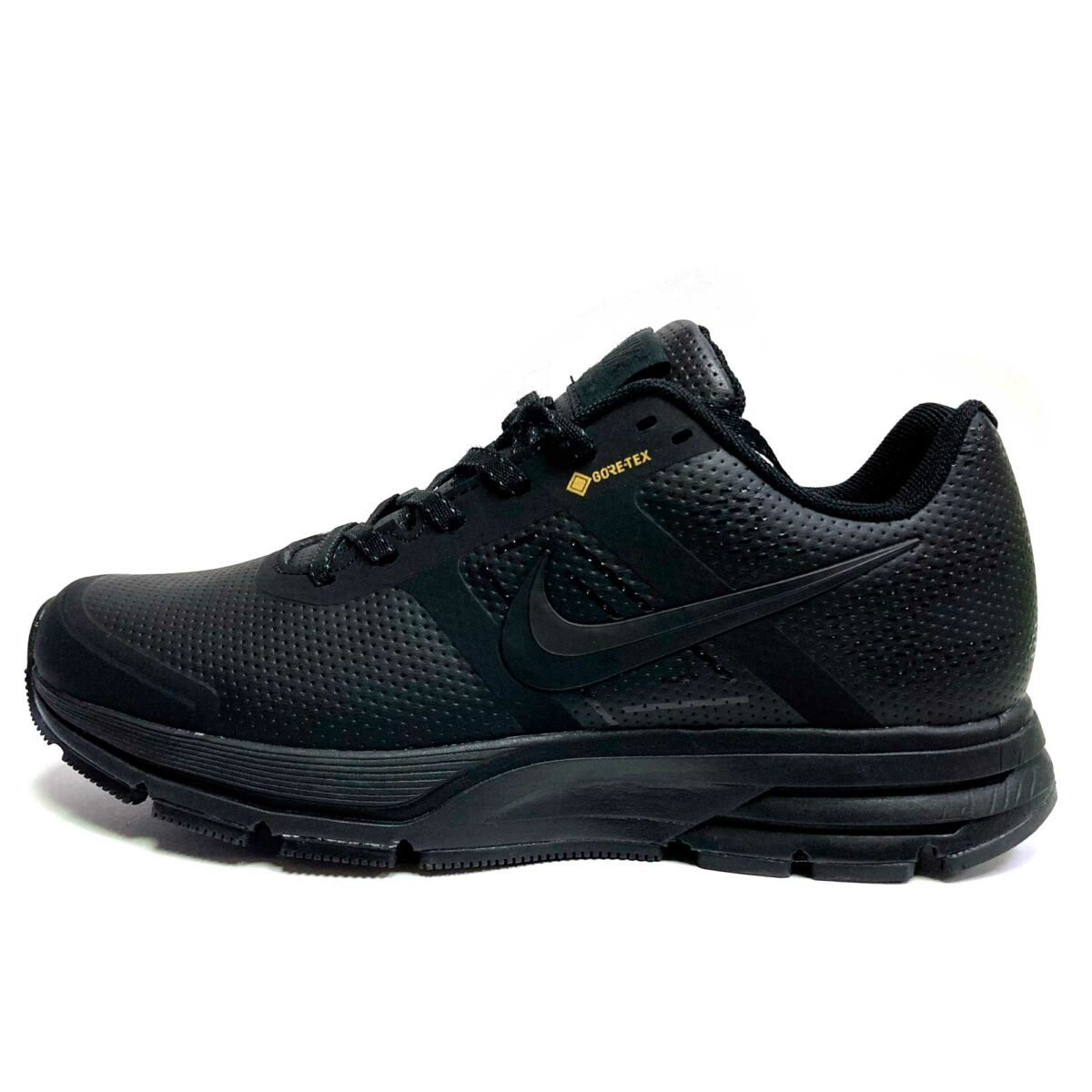 nike pegasus lether all black купить