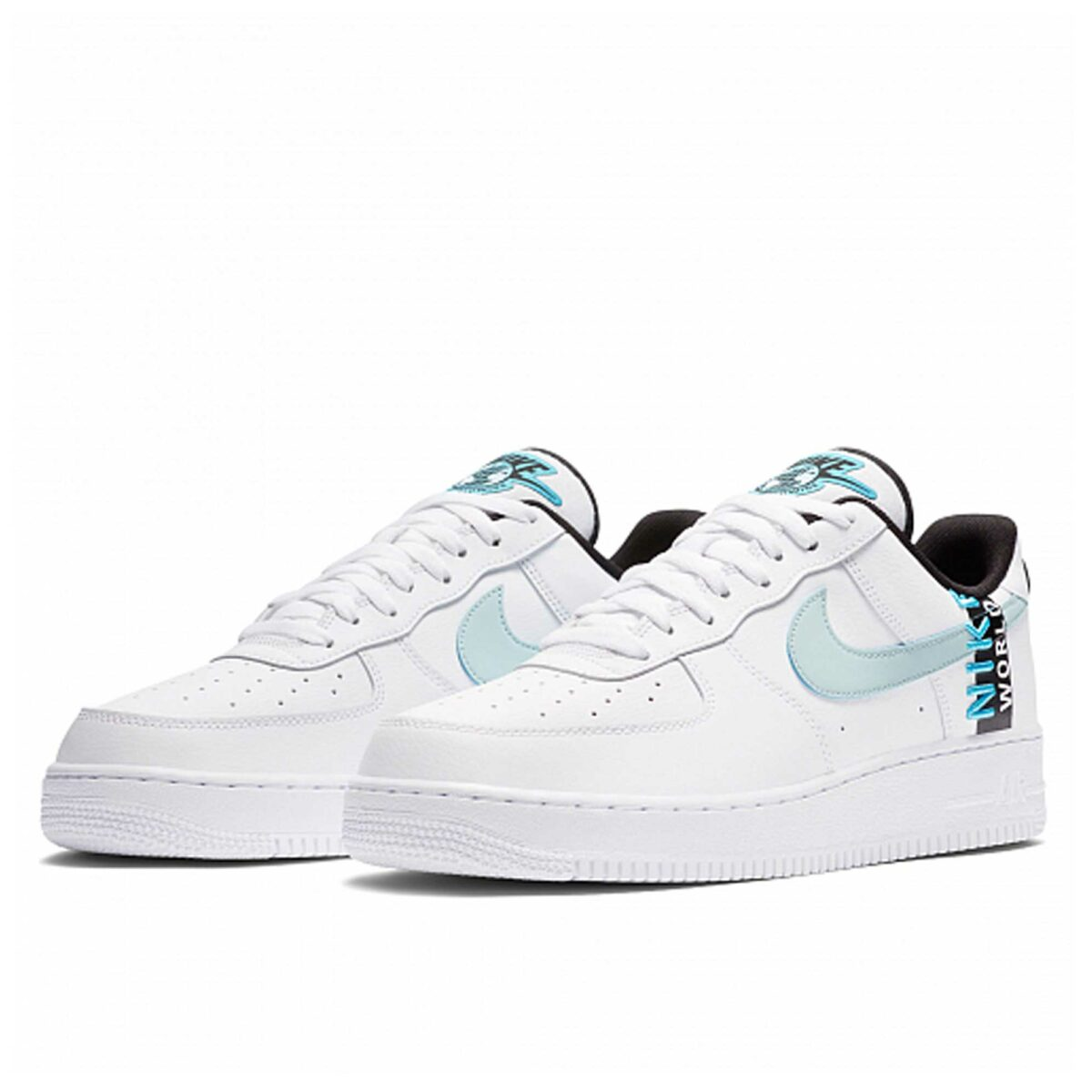 nike air force 1 07 lv8 worldwide white blue ck6924_100 купить