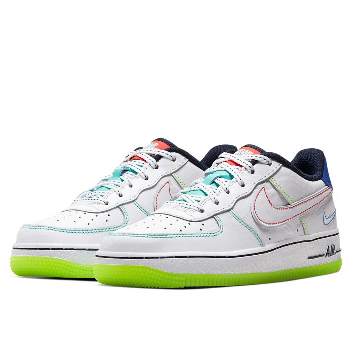 nike air force 1 low gs outside the lines cv2421_100 купить