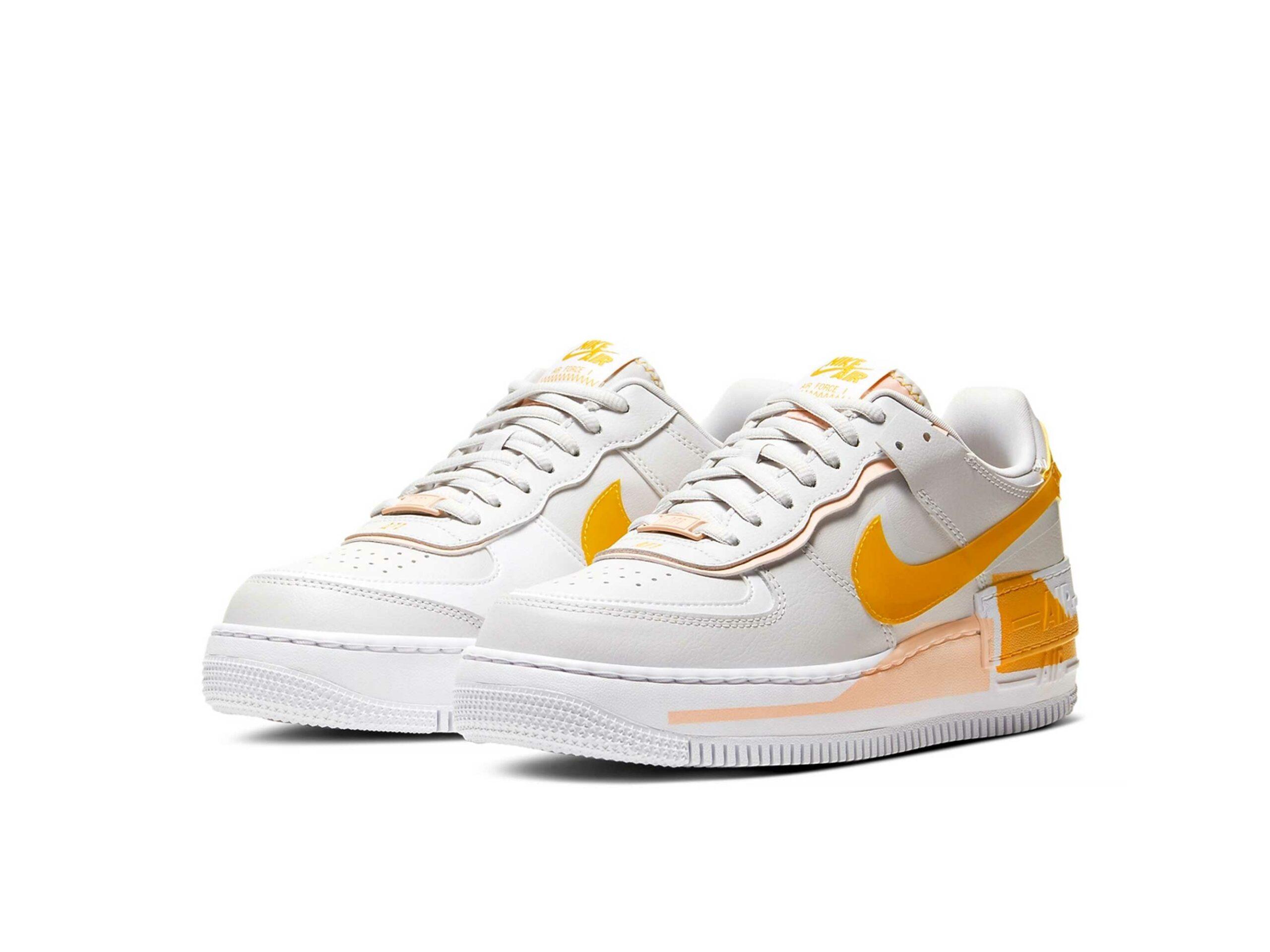 nike air force 1 shadow grey orange cq9503_001 купить