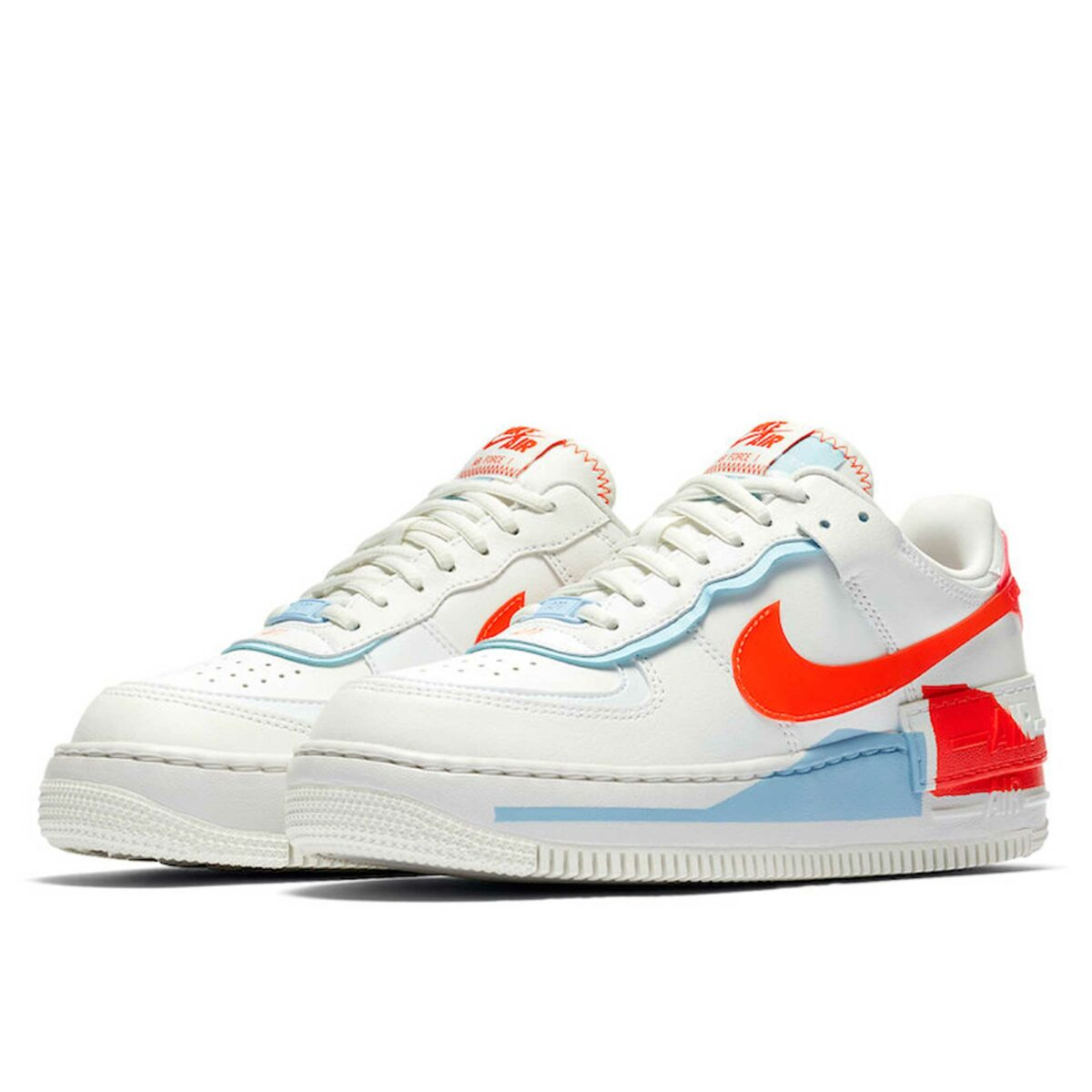 nike air force 1 shadow summit white orange cq9503_100 купить