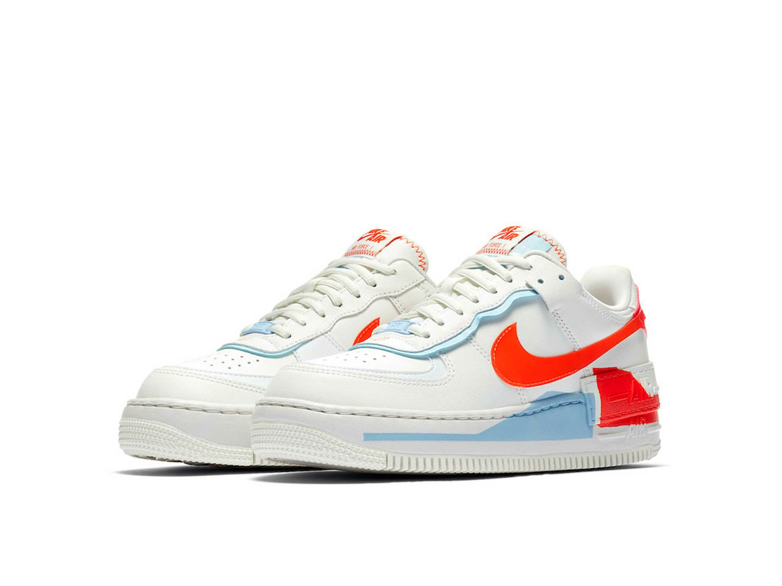 nike air force 1 shadow summit white orange cq9503_100 купить