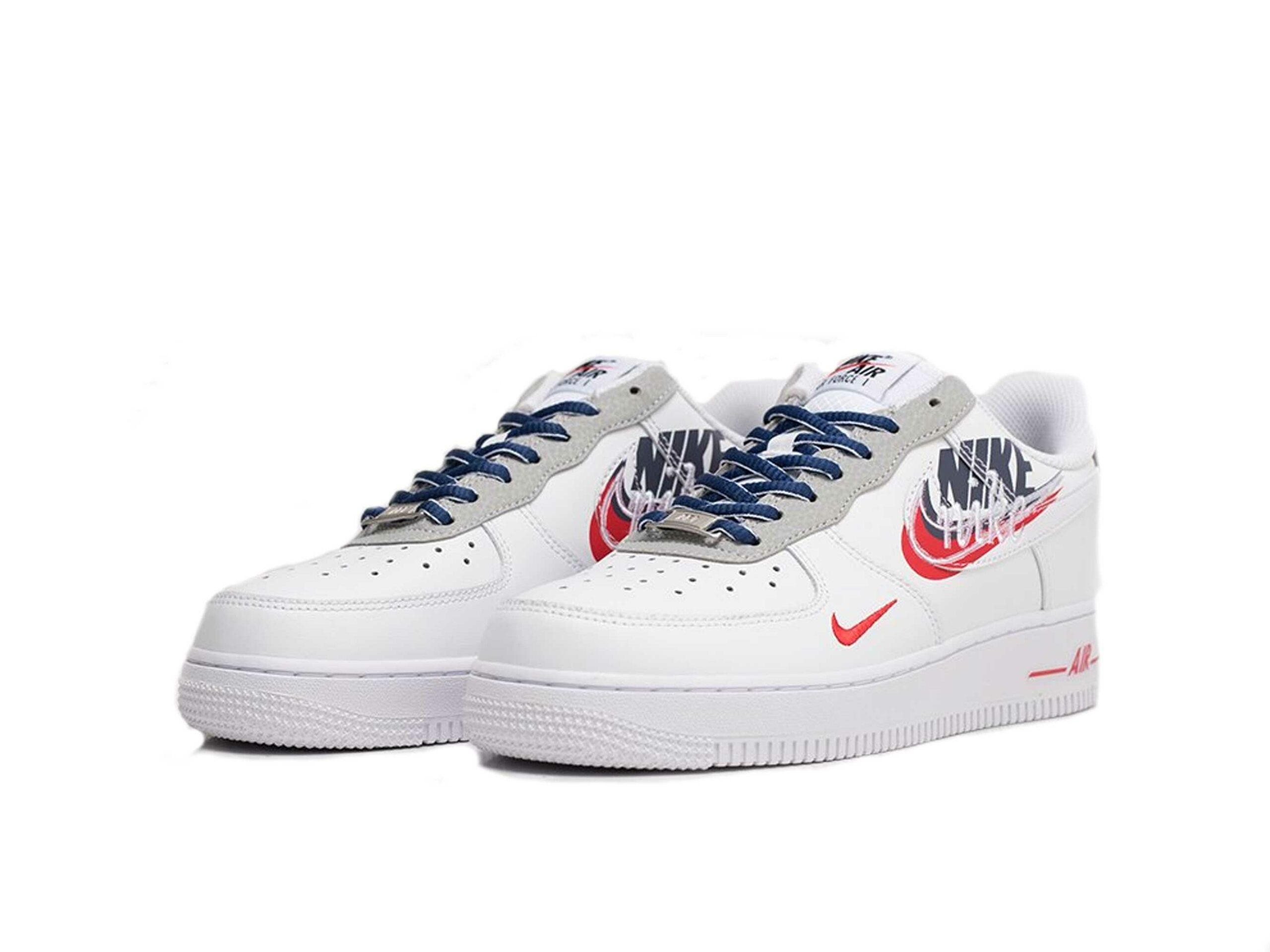 nike air force 1 white script swoosh ct1620_178 купить