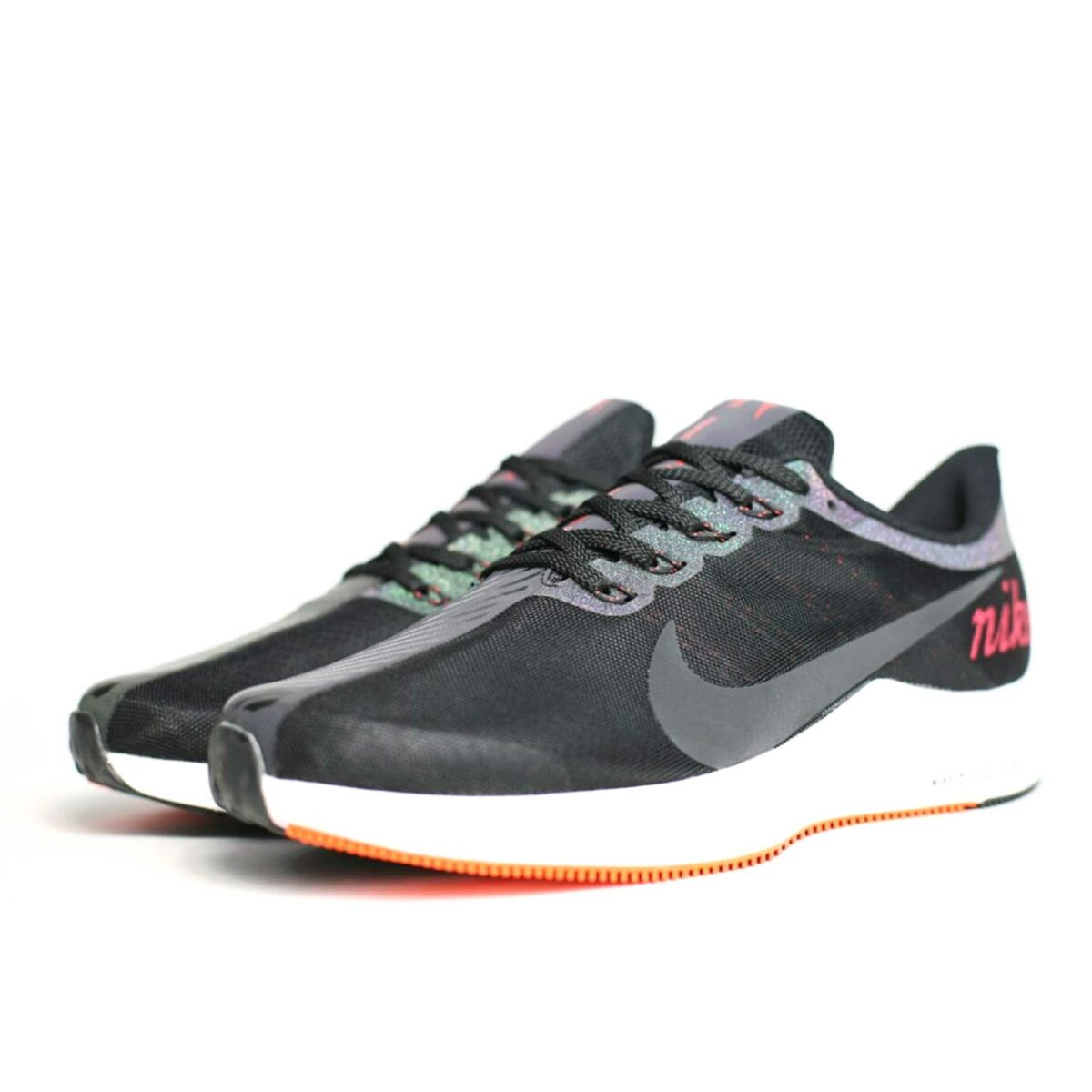 nike zoom pegasus 35 turbo black orange white aj4114_004 купить