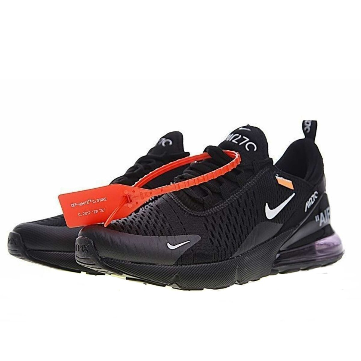 off-white x nike air max 270 black купить
