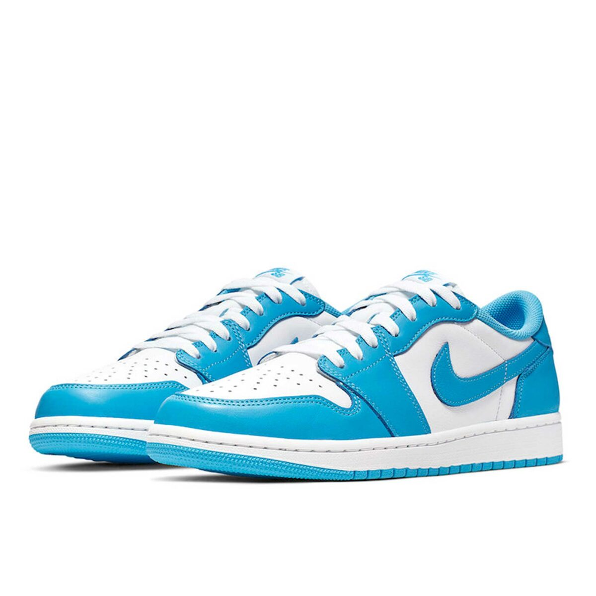 nike sb air Jordan 1 low unc blue white cj7891_401 купить