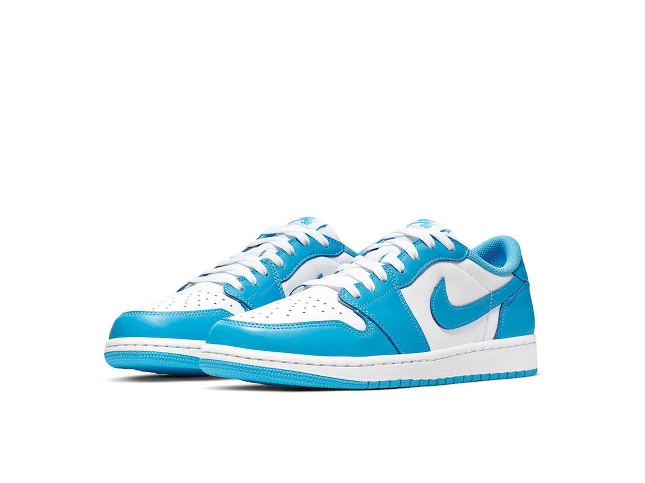 nike sb air Jordan 1 low unc blue white cj7891_401 купить