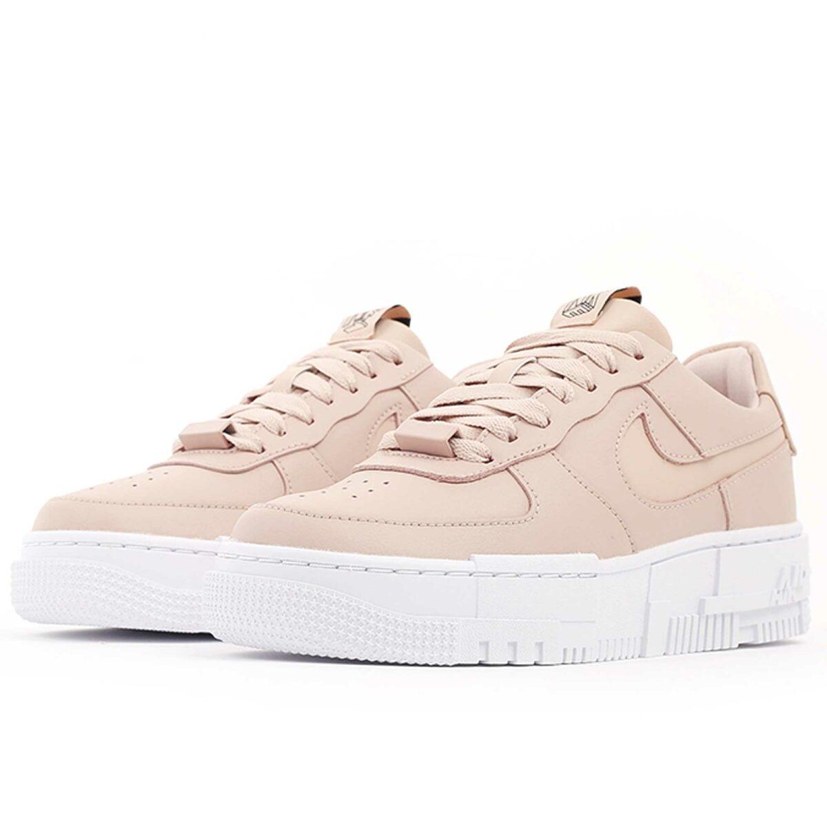 nike air force 1 pixel beige white CK6649_200 купить
