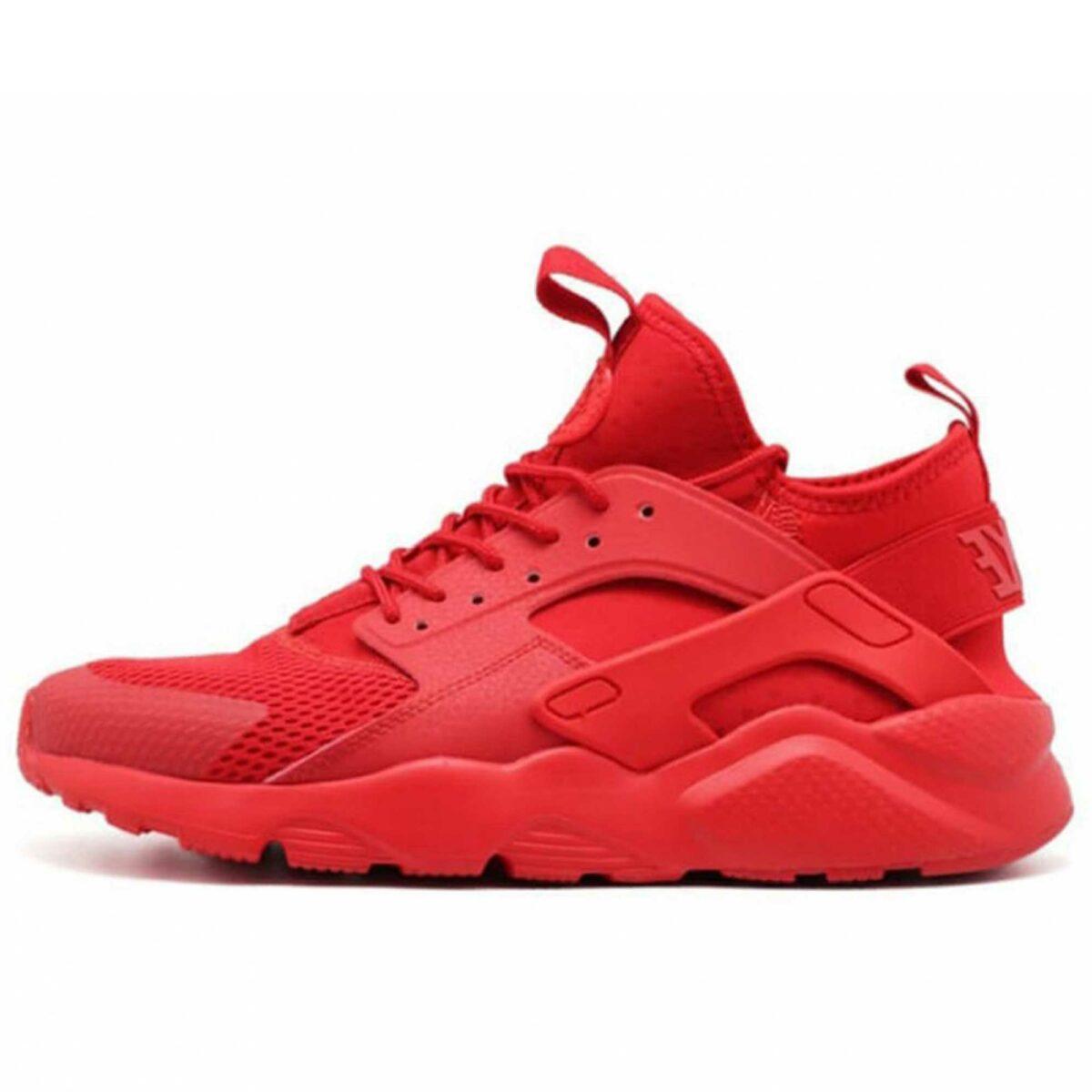 nike air huarache run ultra red купить