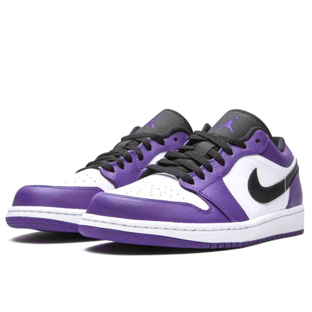 nike air jordan 1 low court purple 553558_500 купить
