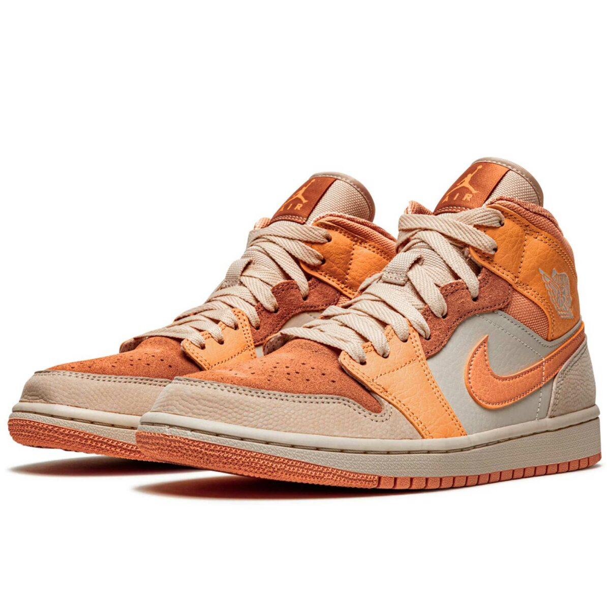 nike air Jordan 1 mid apricot DH4270_800 купить