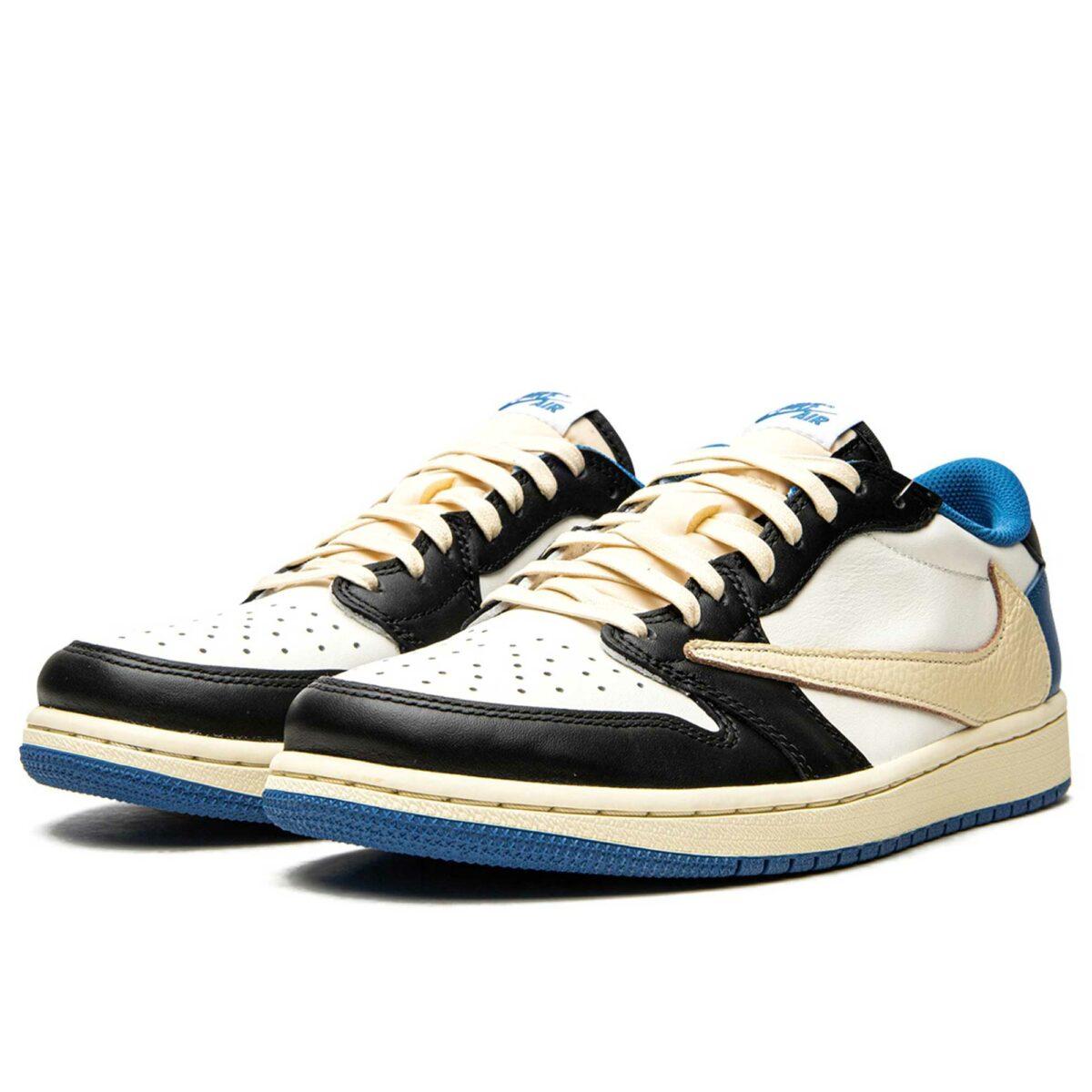 nike air Jordan 1 low og sp Travis Scott x Fragment DM7866_140 купить
