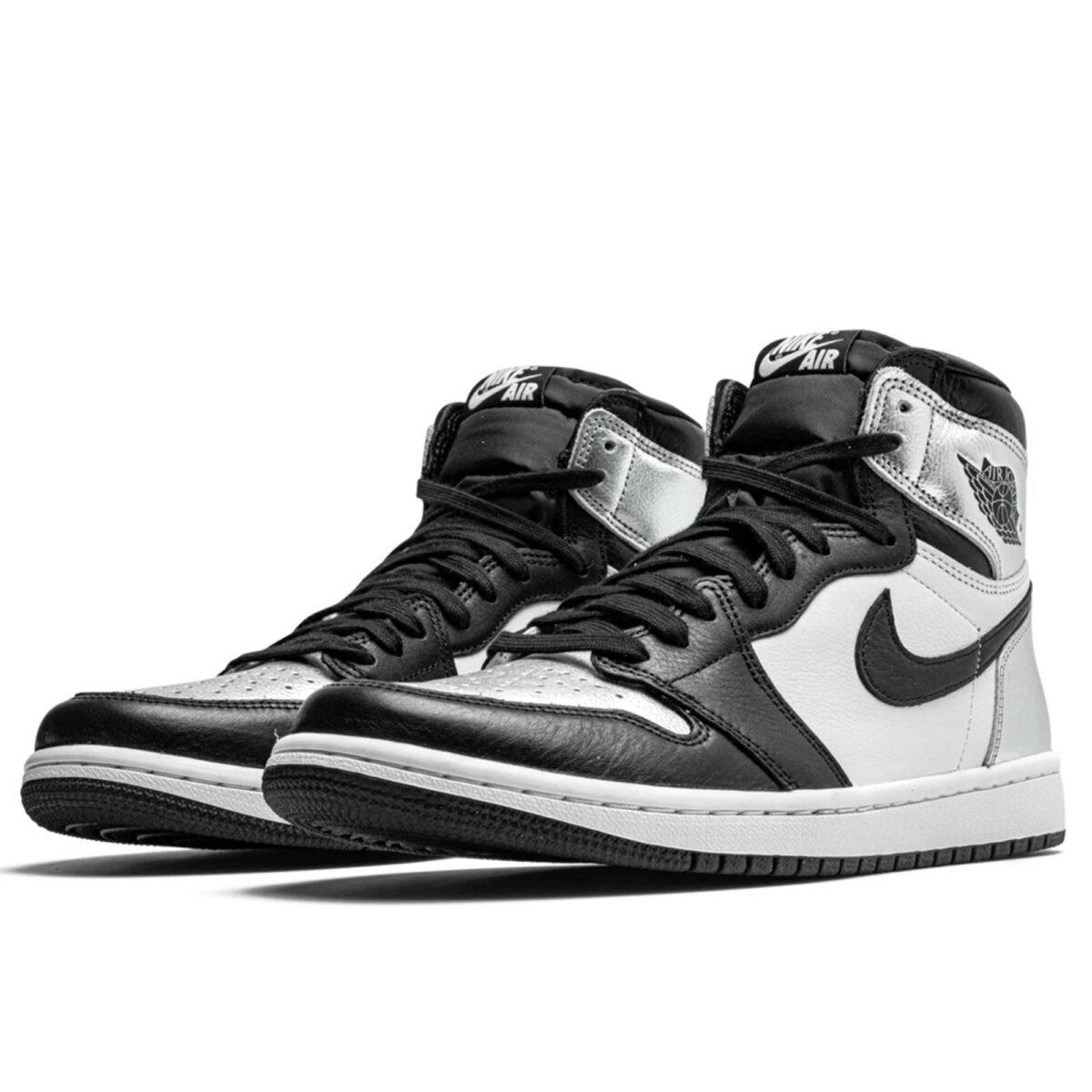 nike air Jordan 1 retro high silver toe CD0461_001 купить